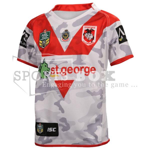 St George Dragons ANZAC Jersey