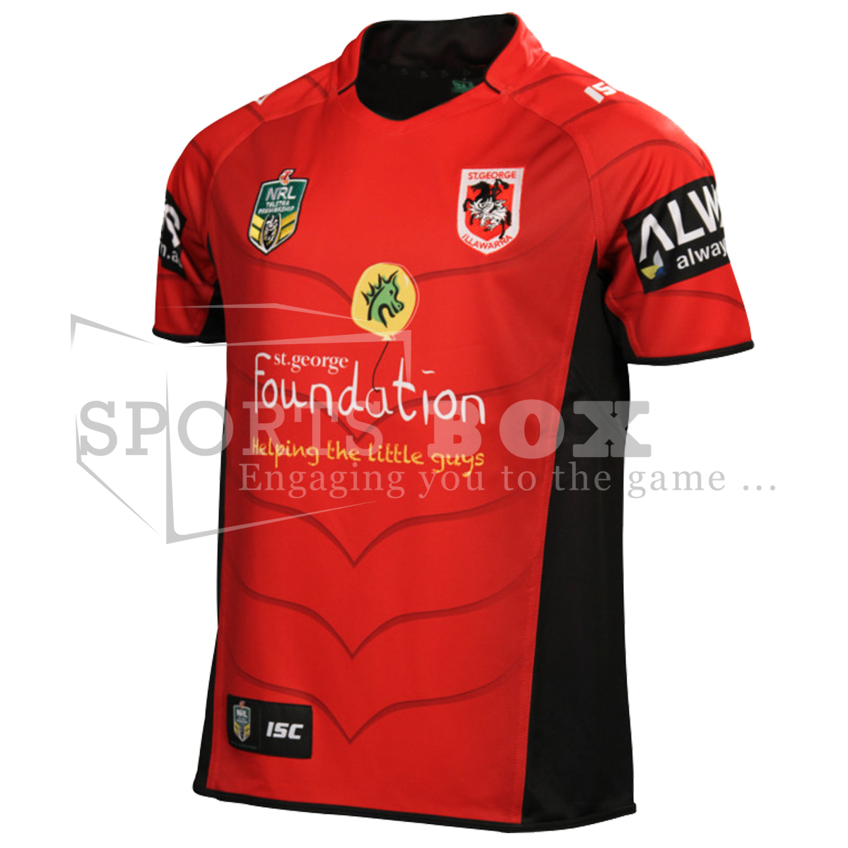 St George Dragons Charity Jersey