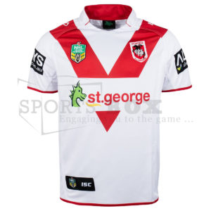 St George Illawarra Dragons Home Jeresy 2014 Front